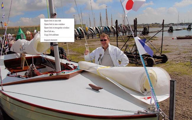 New racing craft launched in Brightlingsea