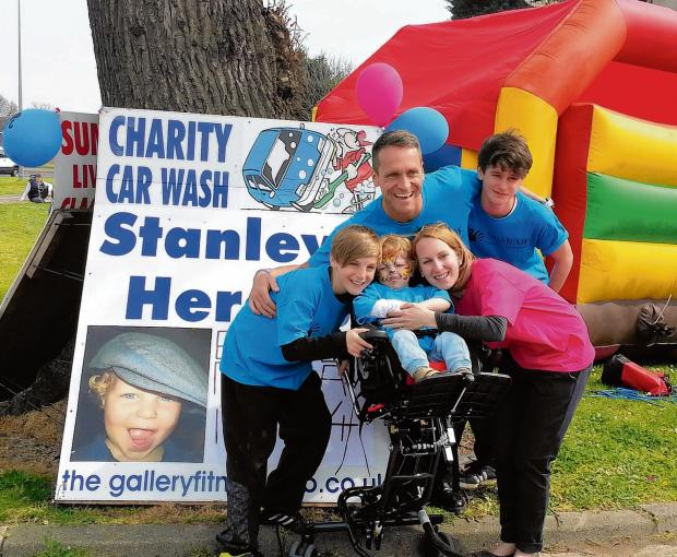 Clacton and Frinton Gazette: Firefighter car wash inspired by young Stanley's mystery illness battle