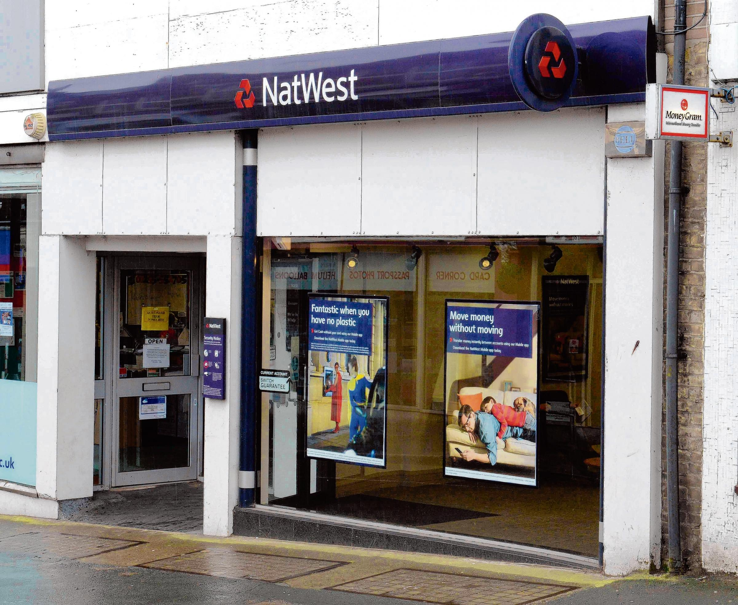 Natwest branches in Brightlingsea and Dovercourt (pictured) to close