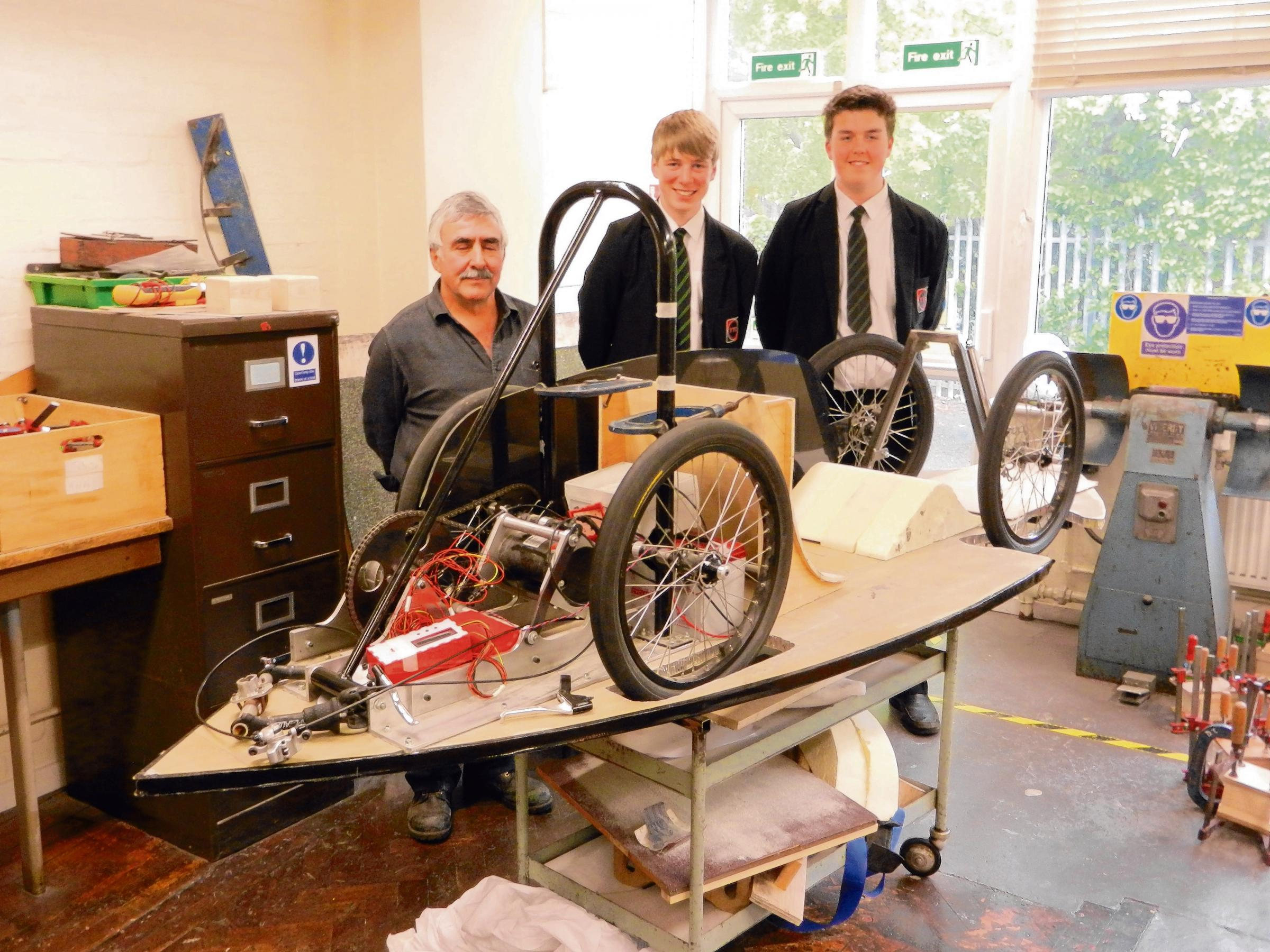 Tendring students to race eco car around Rotterdam s