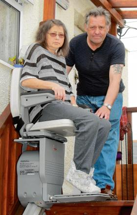 Partner slams hospital over cancelled physio sessions