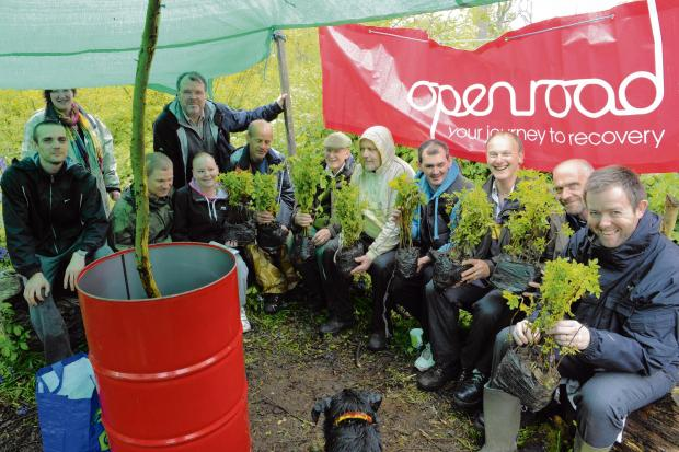 Charity boosts addiction rehabilitation with planting project