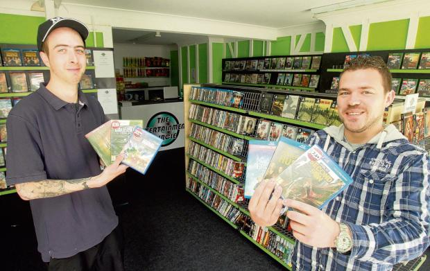 Clacton pair's bid to fill Blockbuster void with new entertainment shop