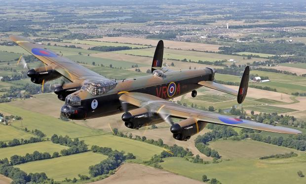 Lancaster bombers to take to the skies at Clacton Airshow