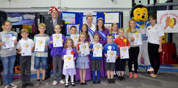 Youngsters' posters to promote this year's carnival