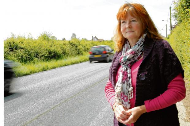 Linda O'Reilly calls for speed limit change