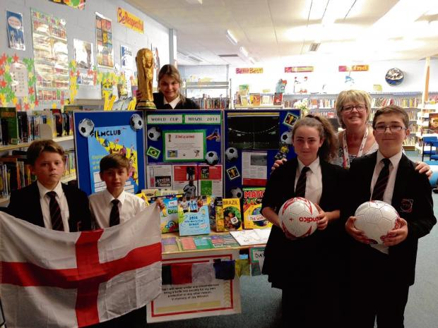 School uses World Cup fever to boost learning
