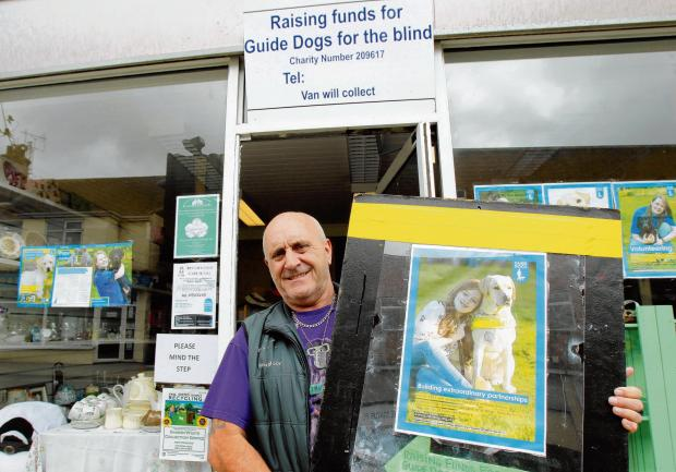 Laurence Gray opens new Walton shop to fund guide dogs