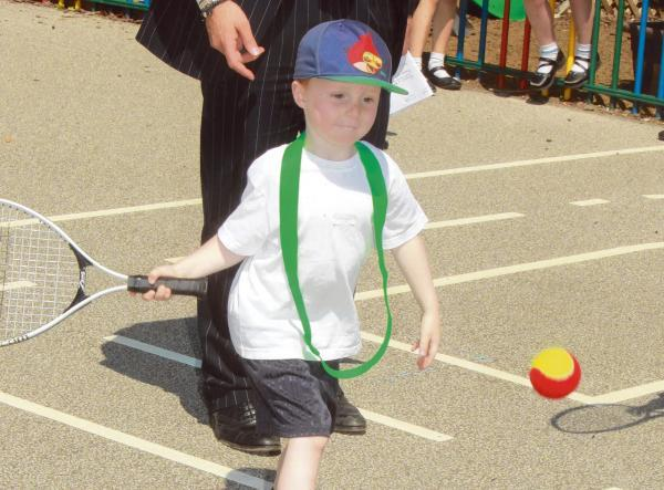 Young tennis maestros dazzle at Wimbledon-inspired school showcase