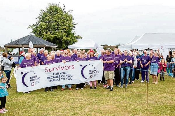 Clacton Relay for Life 2014