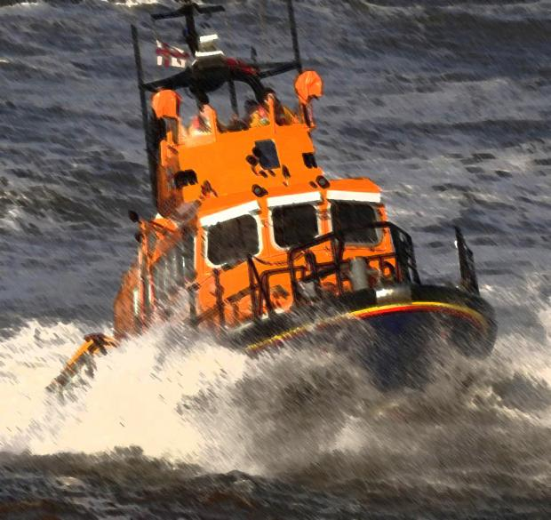 Coastguard called to sinking jet ski