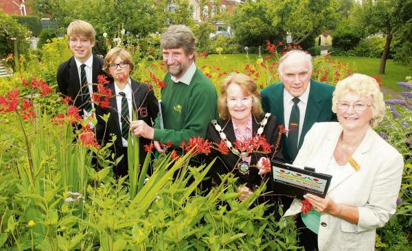 Town's bid for flower power gold