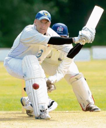 KEY MAN: Ted Moulton top-scored with 86 and then took four wickets as Frinton saw off Hadleigh.
