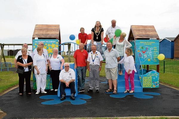 New play equipment unveiled for youngsters