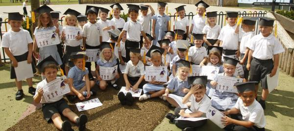 Hamford primary pupils celebrate graduation event