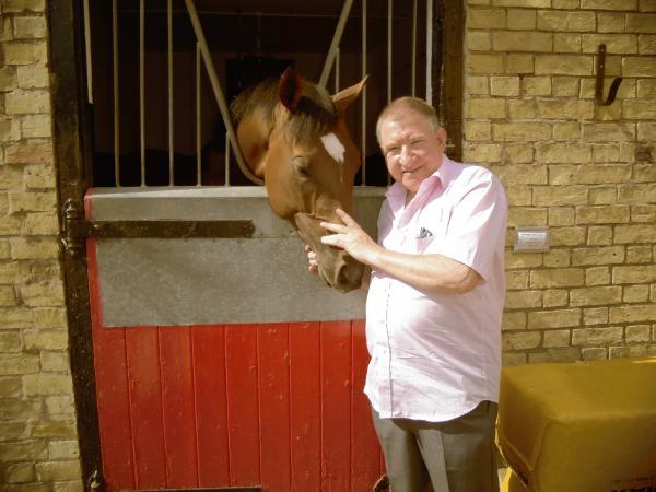Dave Youngman with successful racer Frankel
