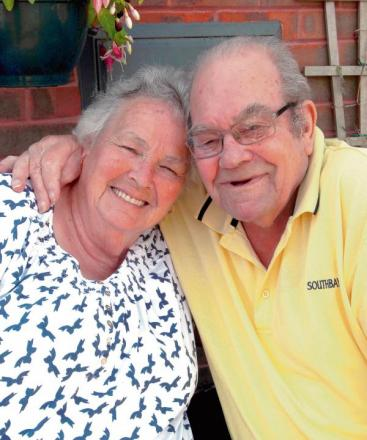 Diamond couple celebrate 60 years of marriage