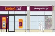Artist impression of potential Frinton Sainsbury's
