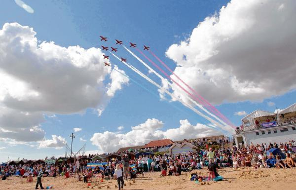 Successful Clacton Air Show brings crowds flocking to the town