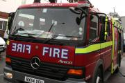 Fire ravages house in Grays