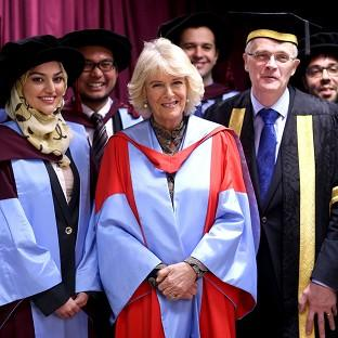 Camilla Awarded Honorary Degree For Work On Bone Condition Clacton And Frinton Gazette