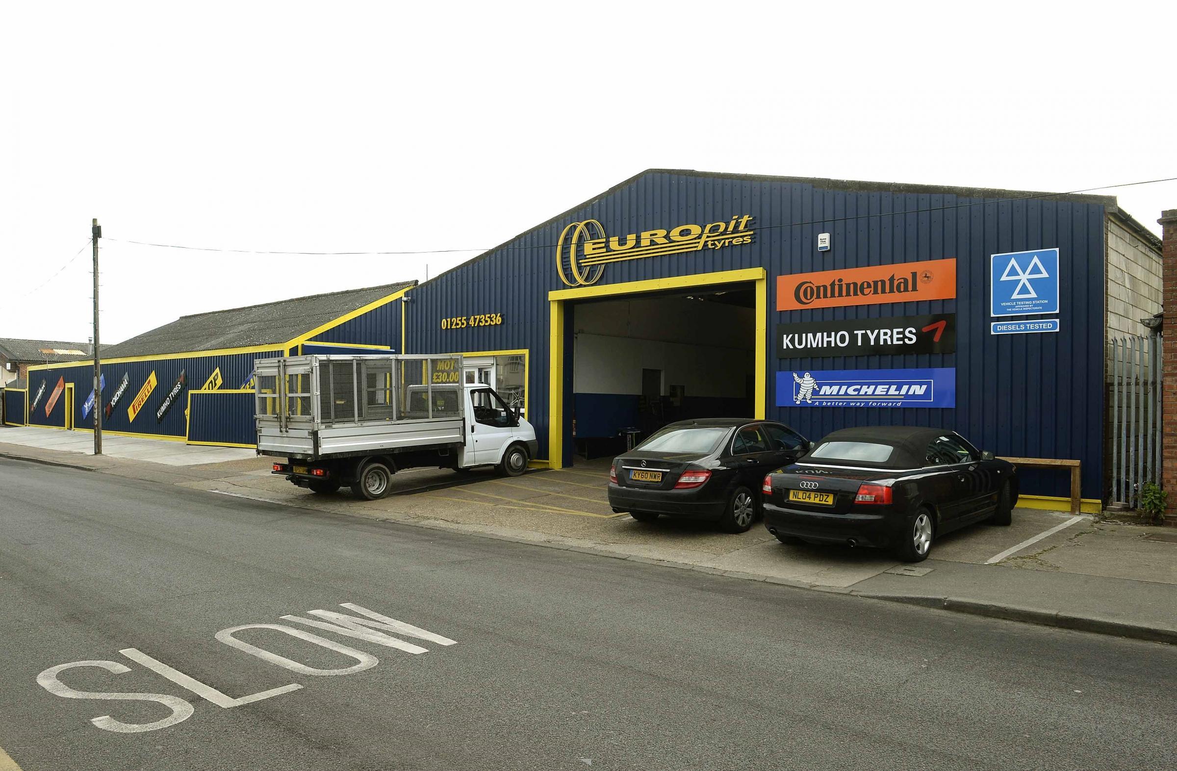 Europit Tyres garage in Clacton could