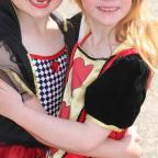 Clacton and Frinton Gazette: Great Bentley Carnival on Saturday.Daisy Rason and Isla Newton..