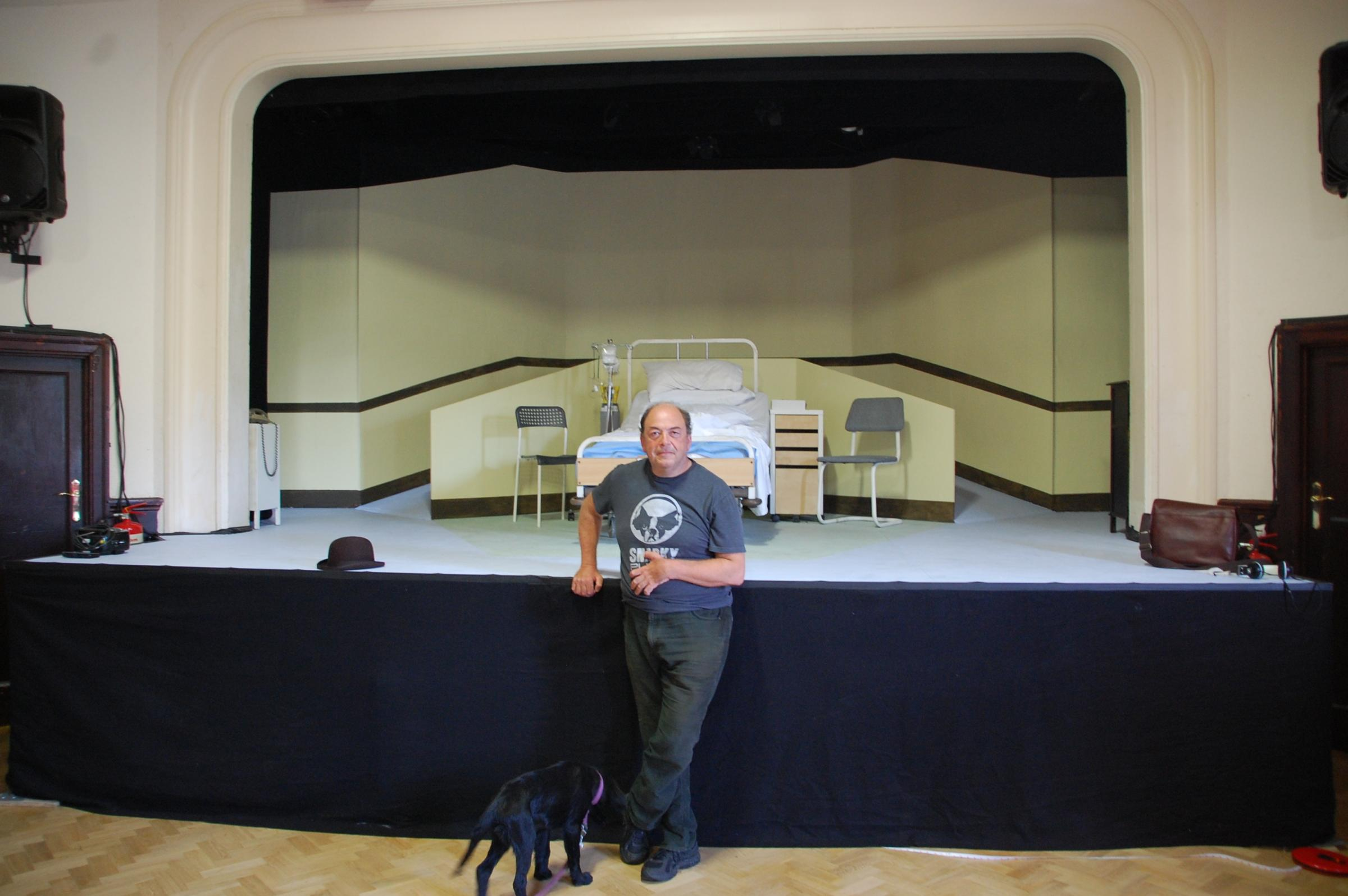 Artistic director Clive Brill at Frinton's McGrigor Hall