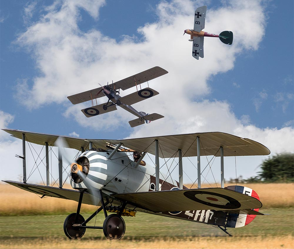 WW1 Aviation Heritage Trust Flying Day at Stow Maries Great War Aerodrome