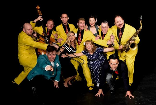 HIGH OCTANE: The Jive Aces are back in Clacton at the Princes Theatre next week..