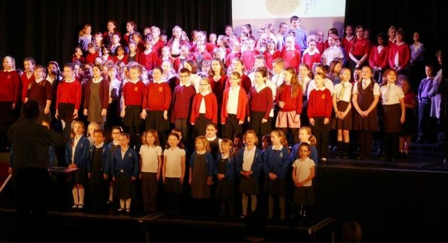 High note - pupils will perform songs in their original languages