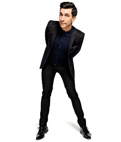 BLISTERINLY FUNNYY: Russell Kane is at the West Cliff