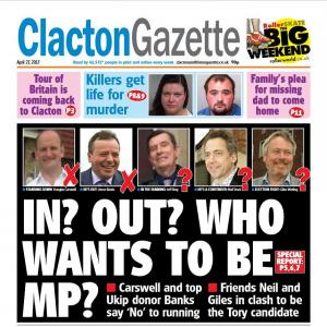 Clacton and Frinton Gazette: Don't miss this week's Gazette - on sale NOW!