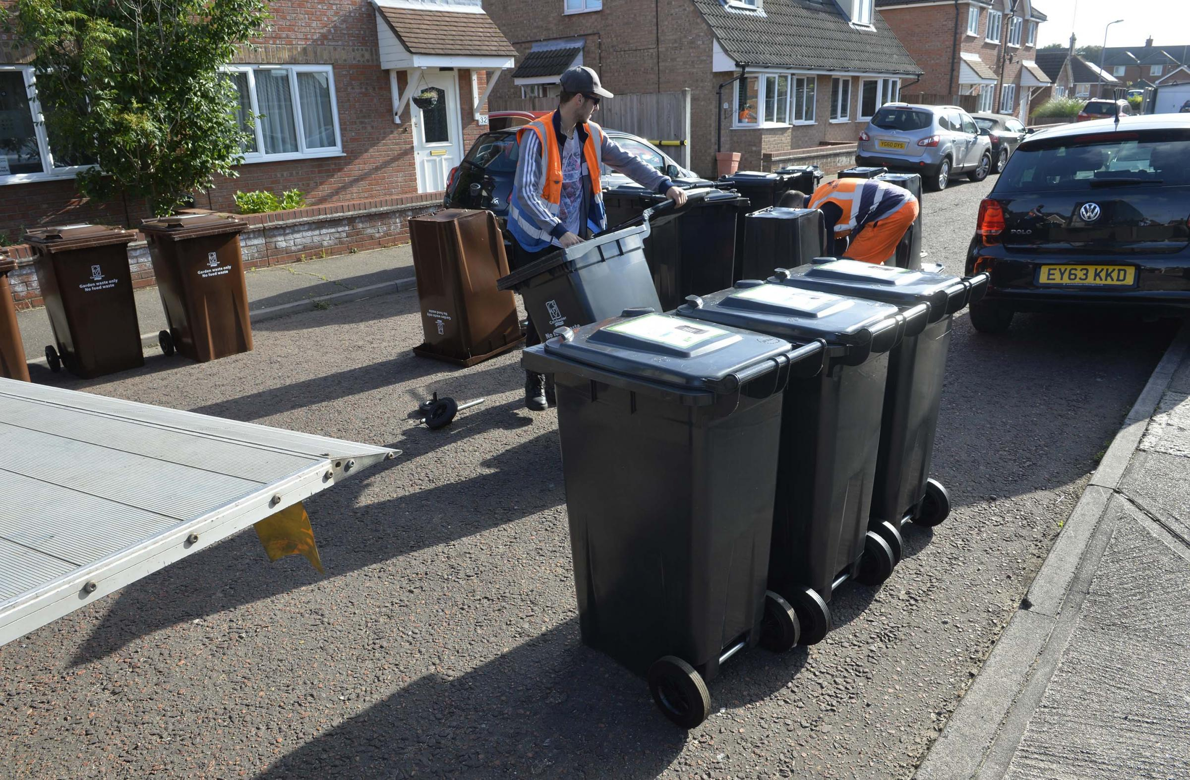 Poll finds readers split 50-50 over plans for wheelie bins in Tendring