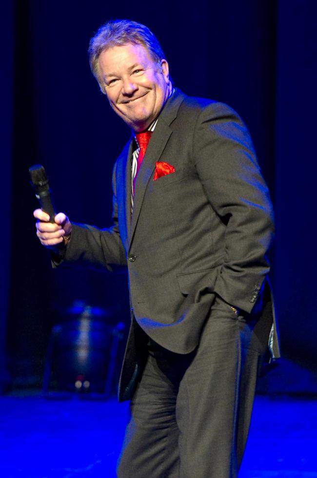 ON TOUR: Jim Davidson looks back at 40 years in showbiz