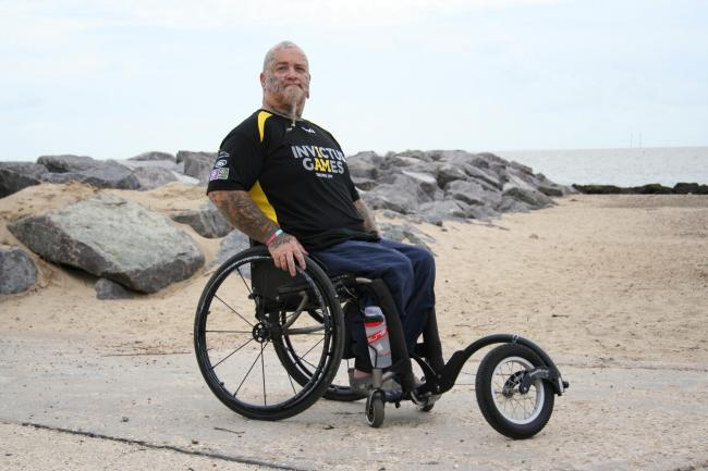 Help for a hero - Paul Guest is in training for the Invictus Games
