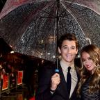 Clacton and Frinton Gazette: Miles Teller and Keleigh Sperry (Ian West/PA)