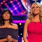 Clacton and Frinton Gazette: Claudia and Tess during last year's Strictly Come Dancing (BBC)