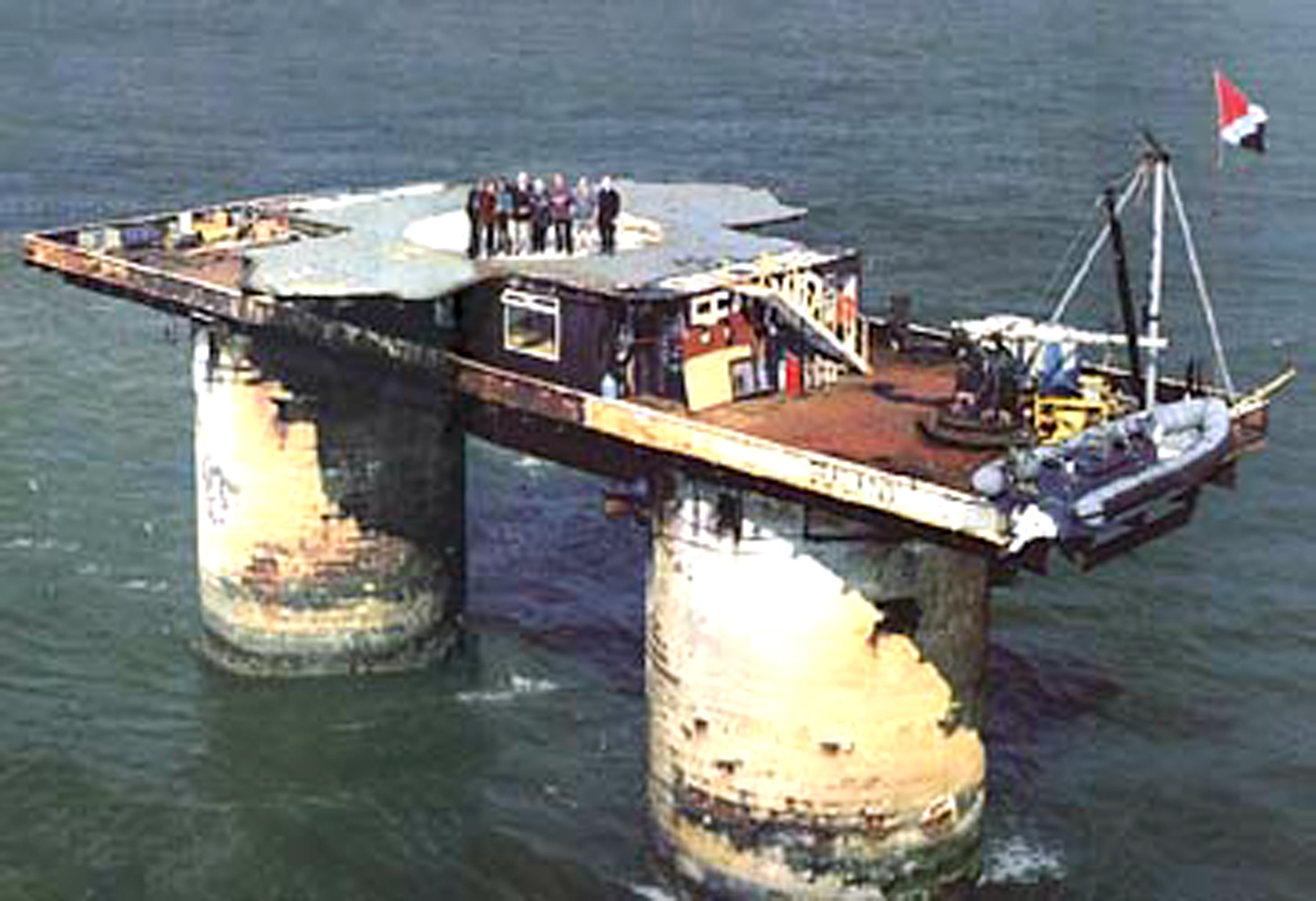 Sealand is celebrating its 50th anniversary