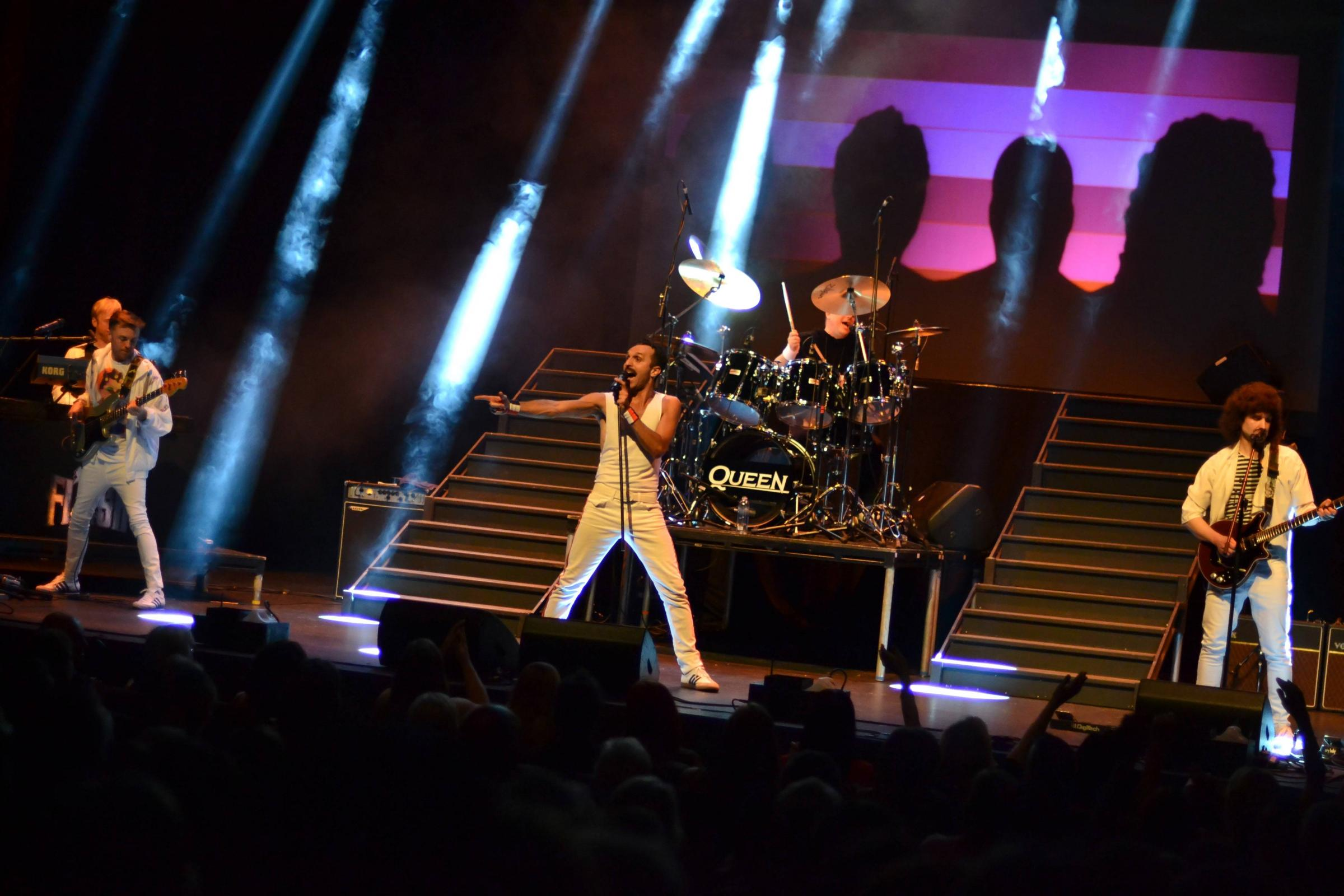 QUEEN TRIBUTE: Flash are playing at the West Cliff Theatre