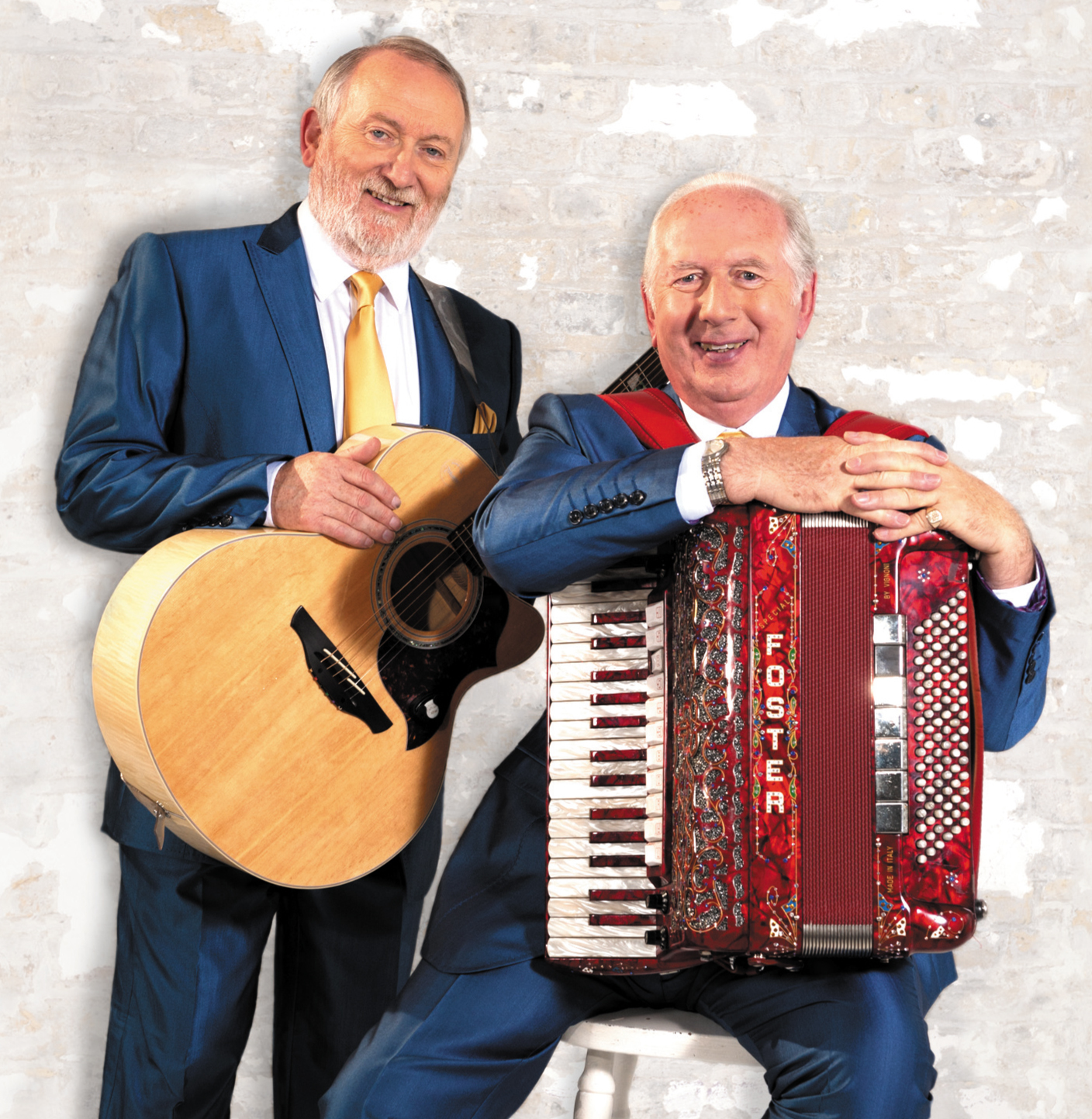 ON TOUR: Foster and Allen are at the West Cliff Theatre on Bonfire Night
