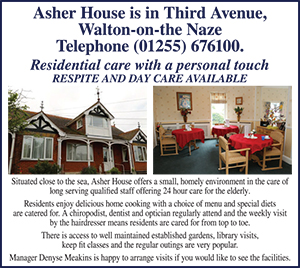 Clacton and Frinton Gazette: CFG gold heart Asher house