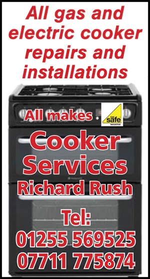 Clacton and Frinton Gazette: CFG gold heart cooker services