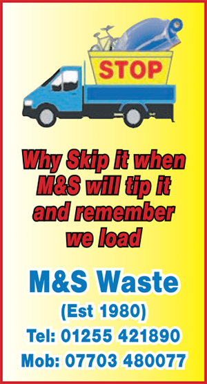 Clacton and Frinton Gazette: CFG gold heart M&S waste