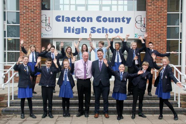 a19ebb310a Top class: Steve McGrath, chairman of the local governing board, Clacton County  High