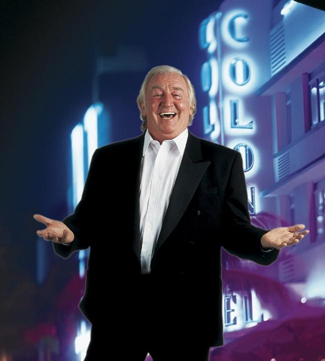 STILL LAUGHING: Jimmy Jones is back on tour after turning 80 last month