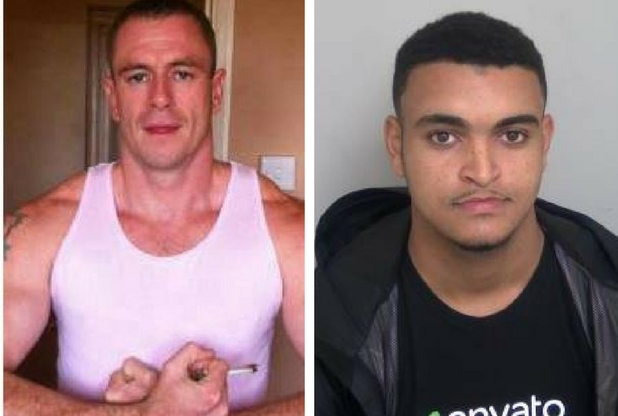 Left - Victim, Daniel Adger, Right - Murderer, Zakaria Lahrar