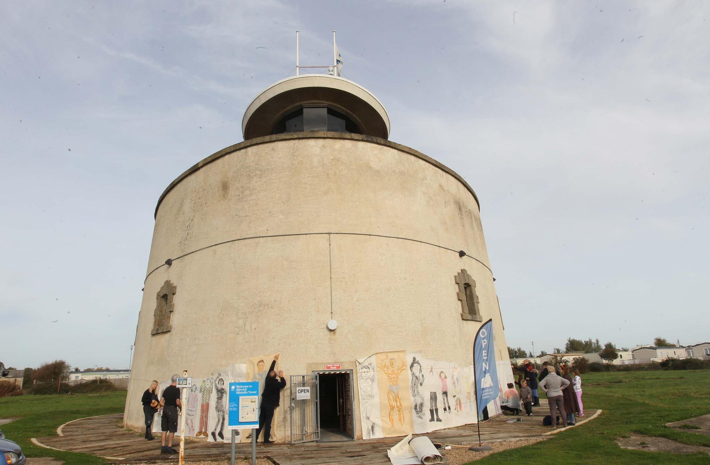 Jaywick's Martello Tower
