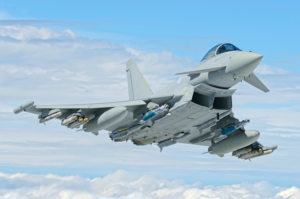 RAF Typhoon - after a year off, the popular aircraft will be back in action this summer