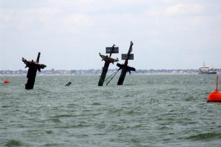 How to sneak a peak at a sunken wartime ship just off Southend